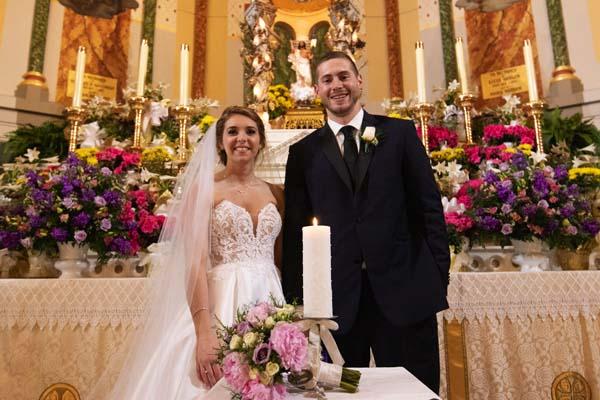 Traci Young Byron Wedding.News Sports Jobs Leader Herald