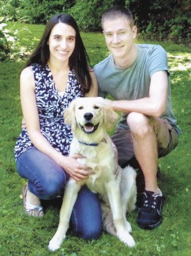 Julianne Cahill, Nicholas Kilmer and Cooper