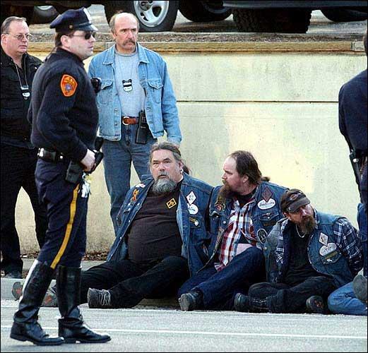 Turf war heats up among biker gangs | News, Sports, Jobs - Lawrence