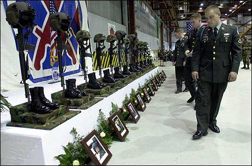 Service honors 11 soldiers killed in crash | News, Sports