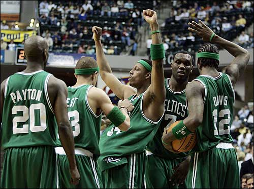 on sale 883b5 a3faa Pierce, Celtics slow Pacers   News, Sports, Jobs - Lawrence ...