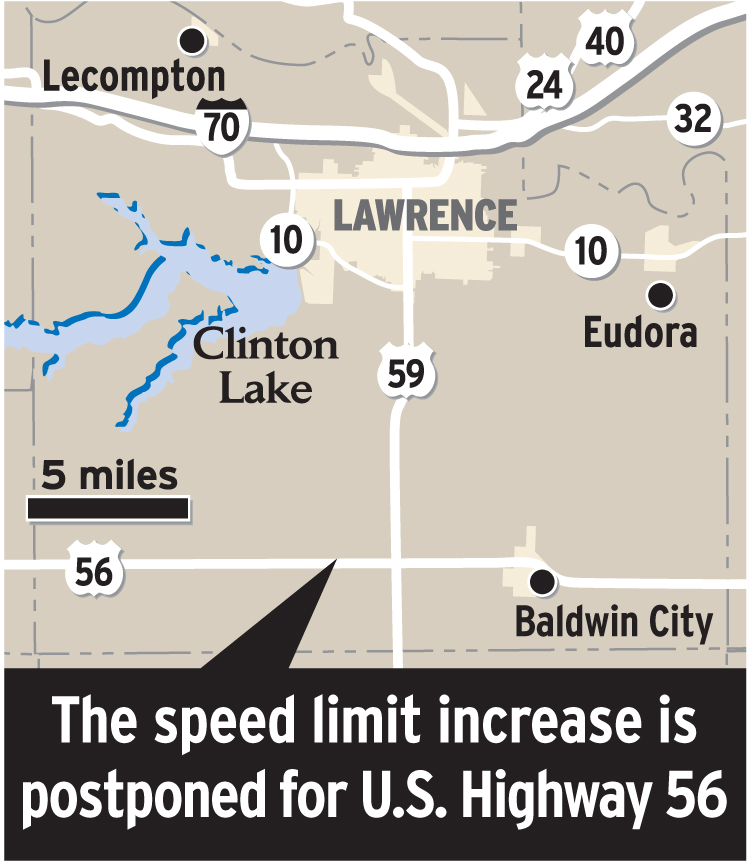 Speed limit increase on hold | News, Sports, Jobs - Lawrence ...