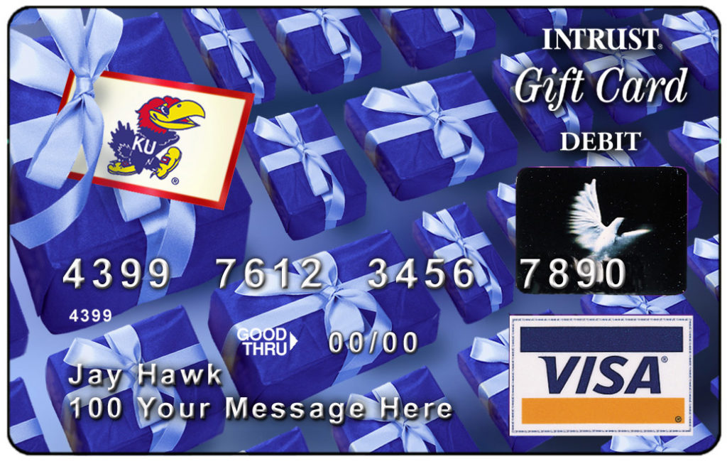 Linda Cullinan is more than pleased to see her company emblazoning piles of its credit cards with big, bright, crimson-and-blue Jayhawks.