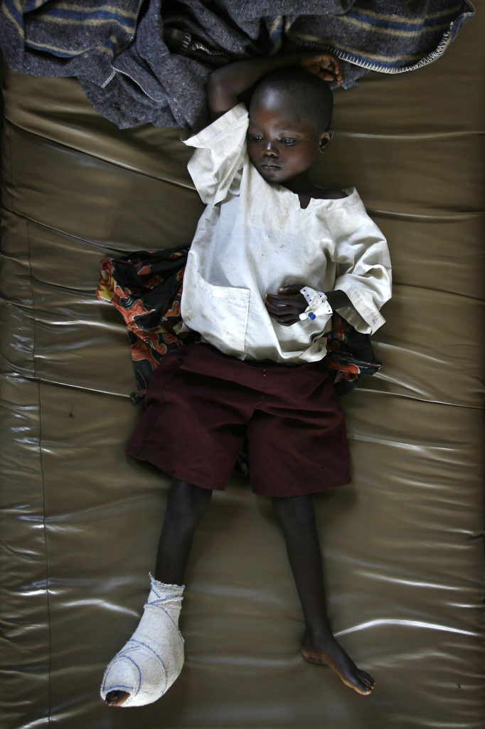 Faces of war: Wounded children in Congo hospital | News