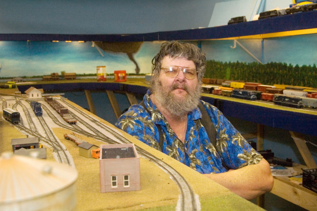 Collector's model train hobby evolves into massive display