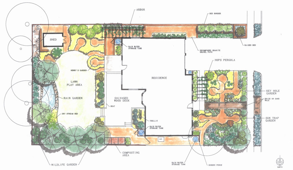 Eating up the landscape: Permaculture proves a yard can ...