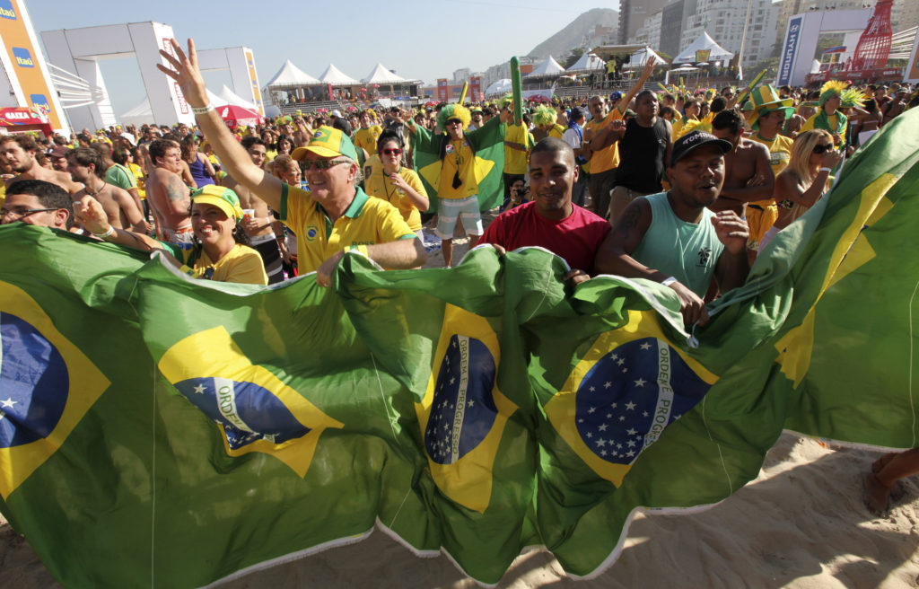 Songs of soccer: World Cup anthems battle to rally fans