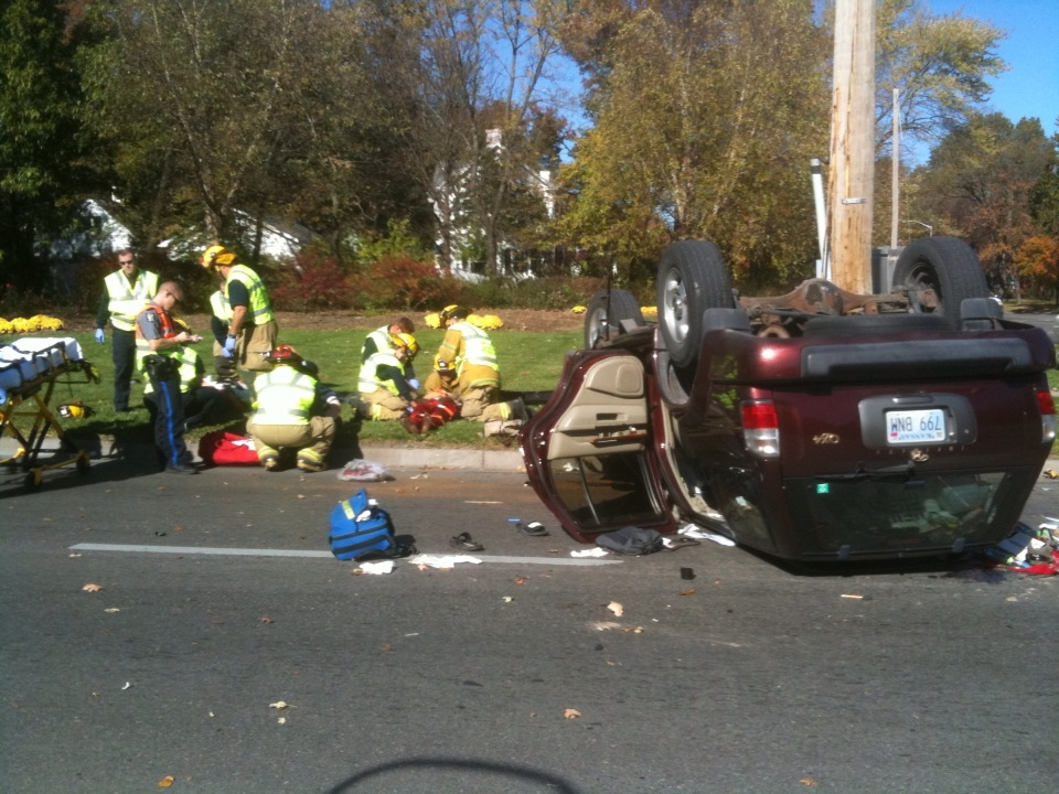 23rd Street reopens after injury accident at Massachusetts