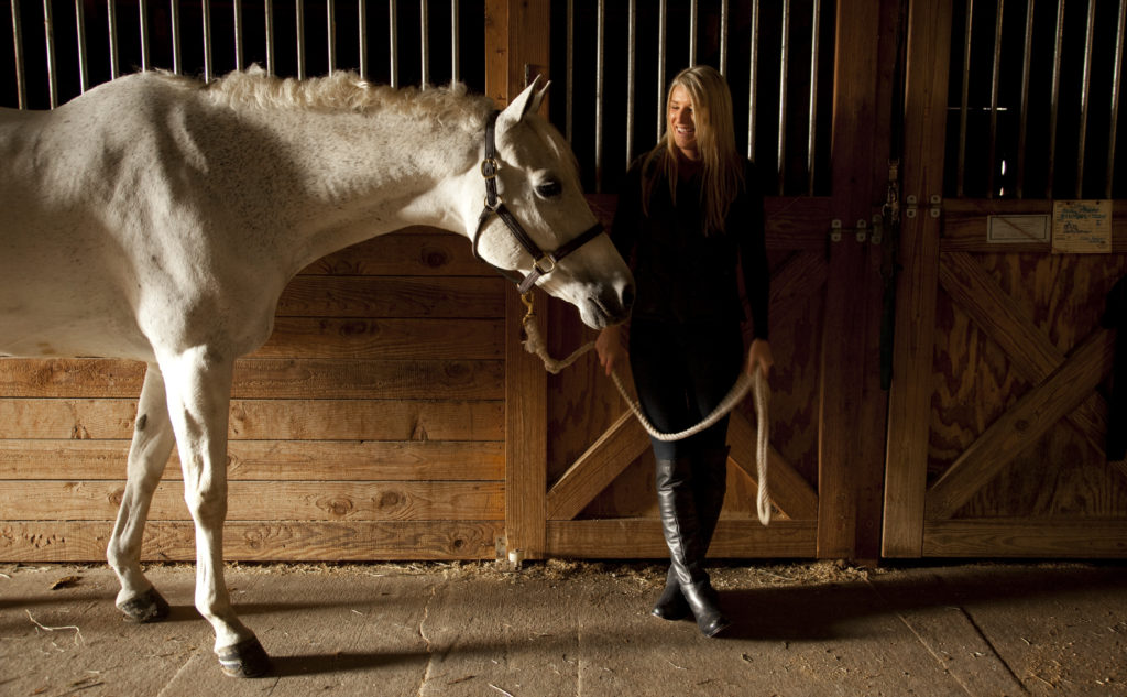 Ku Student S Love For Riding Horses Earns Her World
