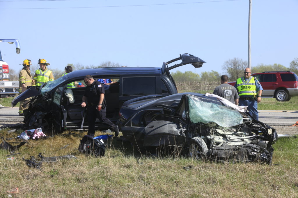 Two dead, three with serious injuries after accident on Kansas
