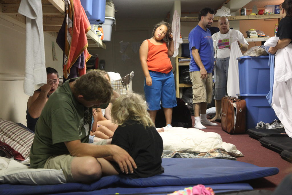 'It's heartbreaking': Families adjust to homeless life together at shelter