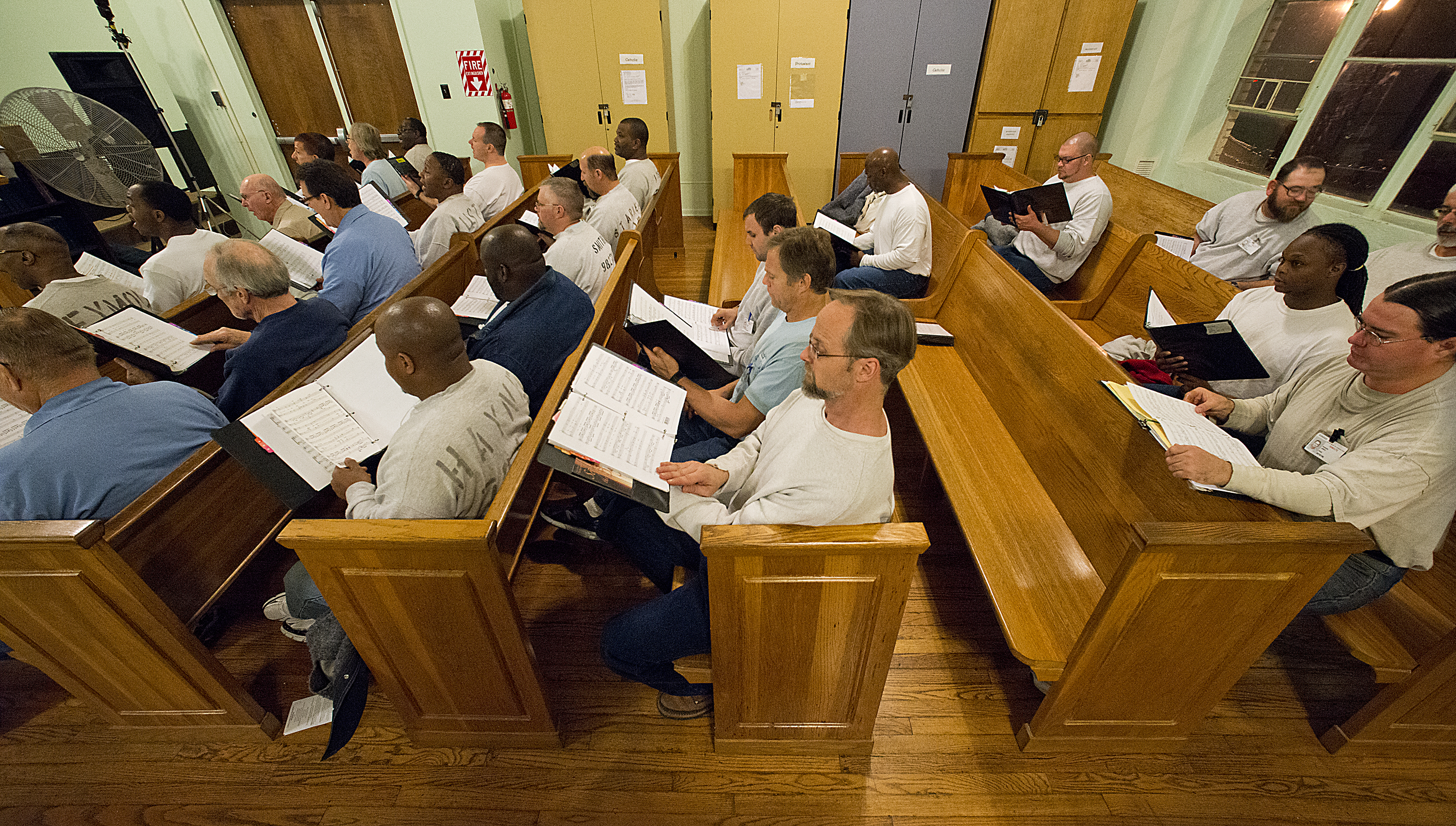 For inmates, prison chorus is a cause worth singing for