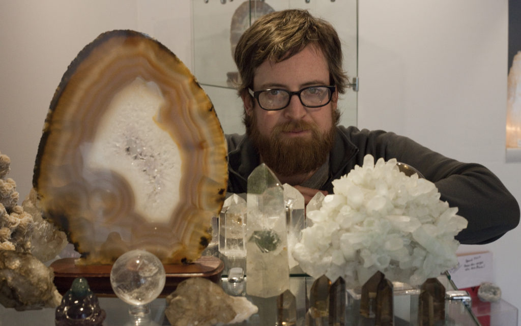 New downtown shop selling gems, minerals sourced from around