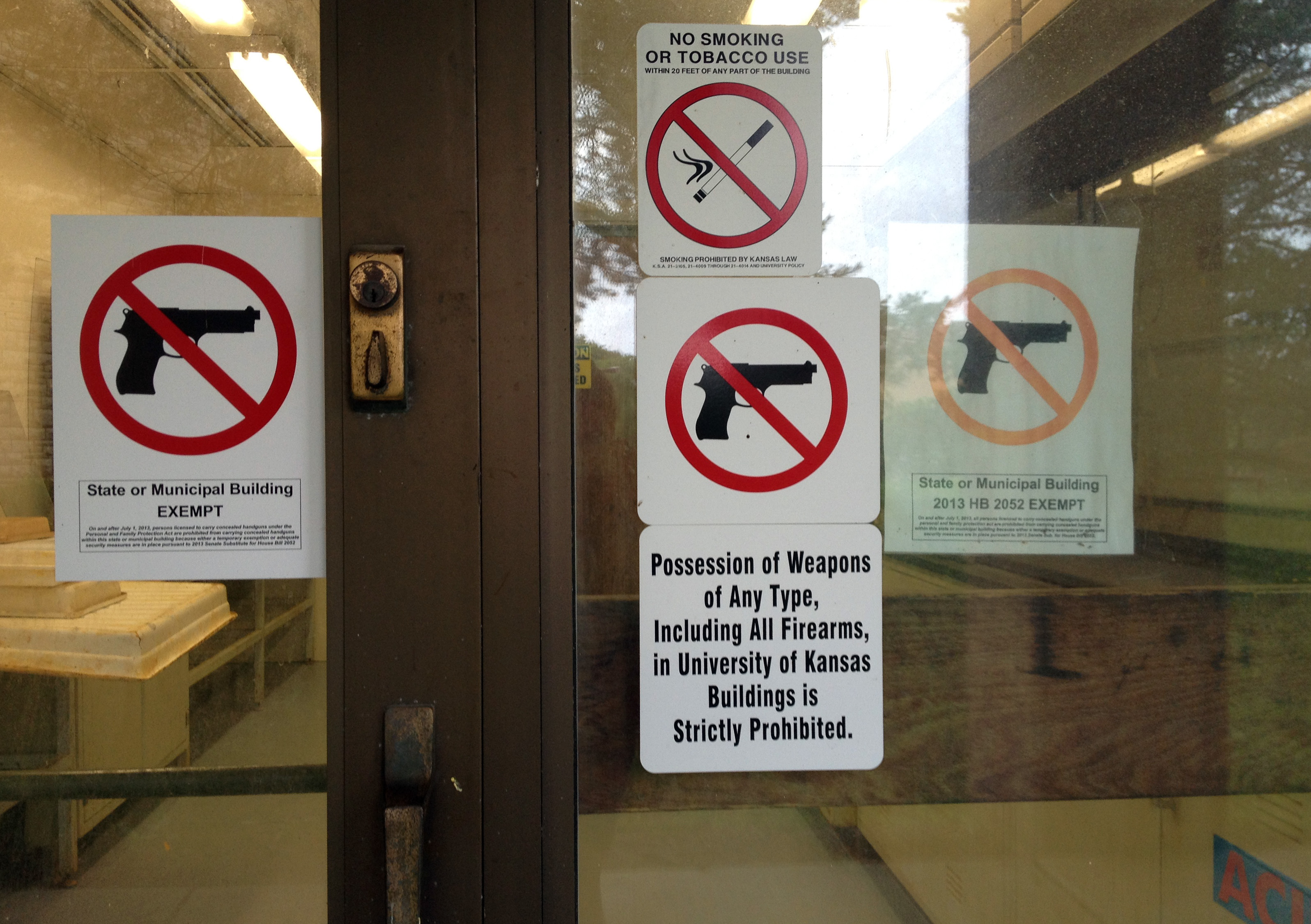 Technology Management Image: Kansas Universities Lack Firm Plan For Concealed Guns On