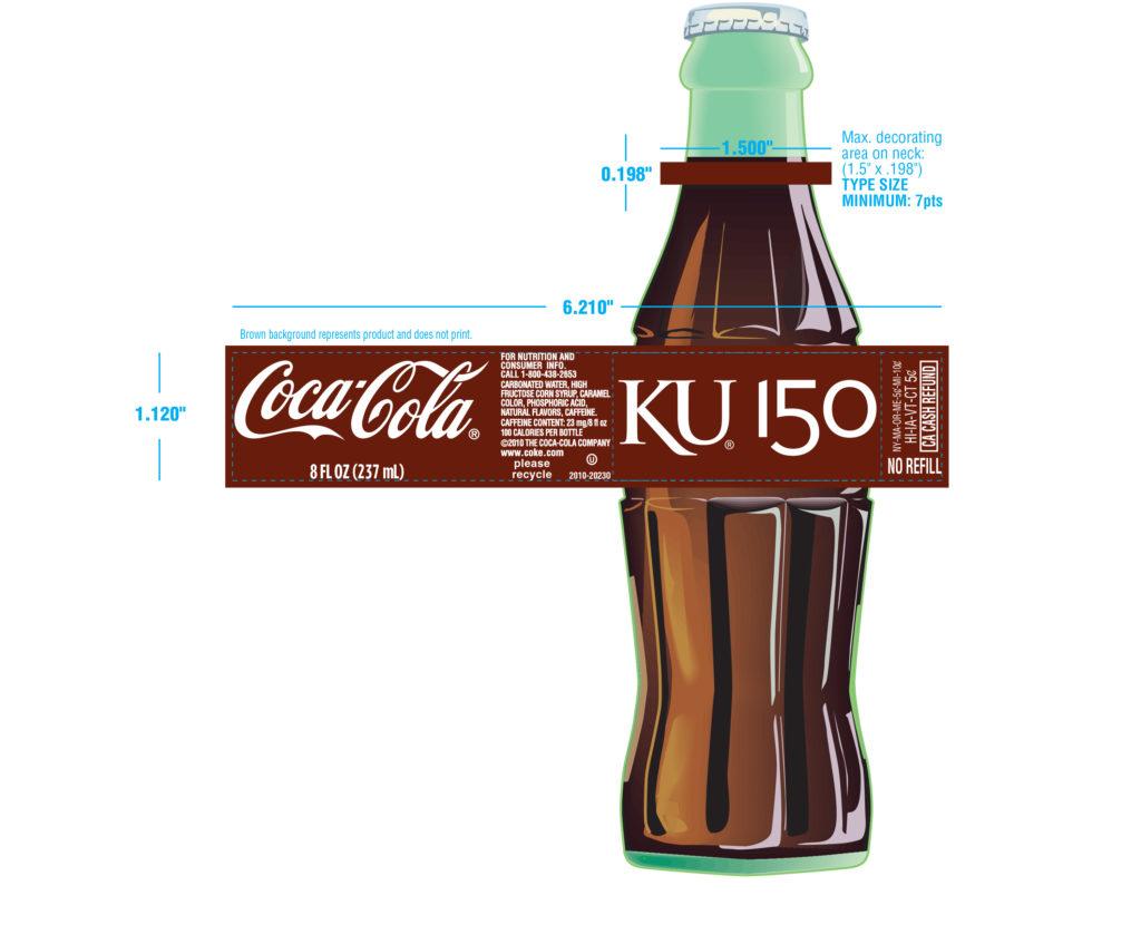 KU Today: Throwback Coke bottles commemorate KU 150 | News, Sports