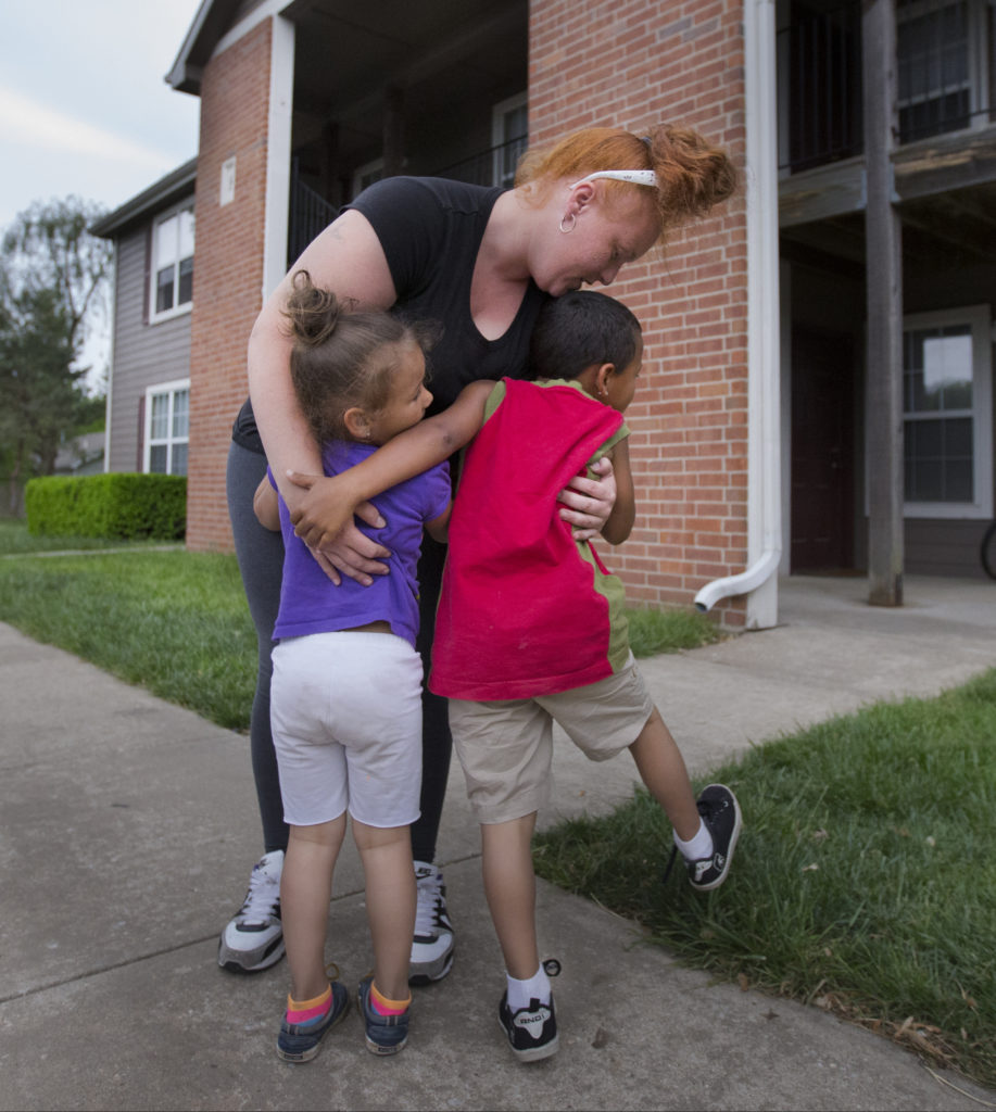 A 'second Chance:' Lawrence Family Moves Out Of Shelter