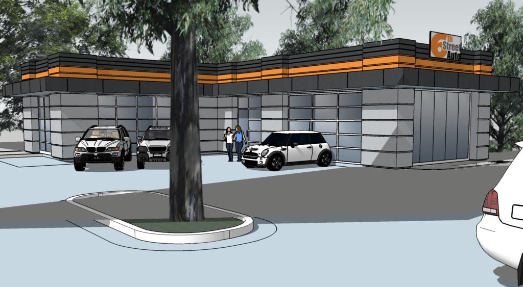 town talk car dealership files plans to build along sixth street lawrence high and ku alumnus. Black Bedroom Furniture Sets. Home Design Ideas