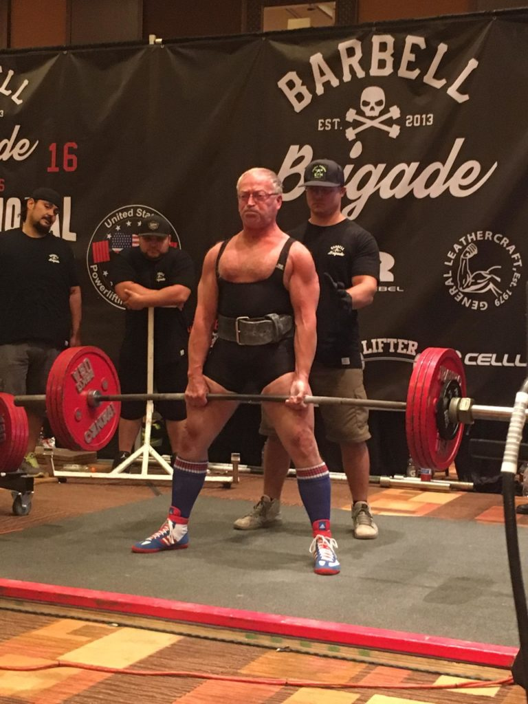 Lawrence family grows closer during powerlifting meets