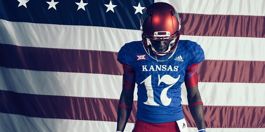 KU football uniforms to pay homage to Civil War regiment with complicated  legacy 5689888de