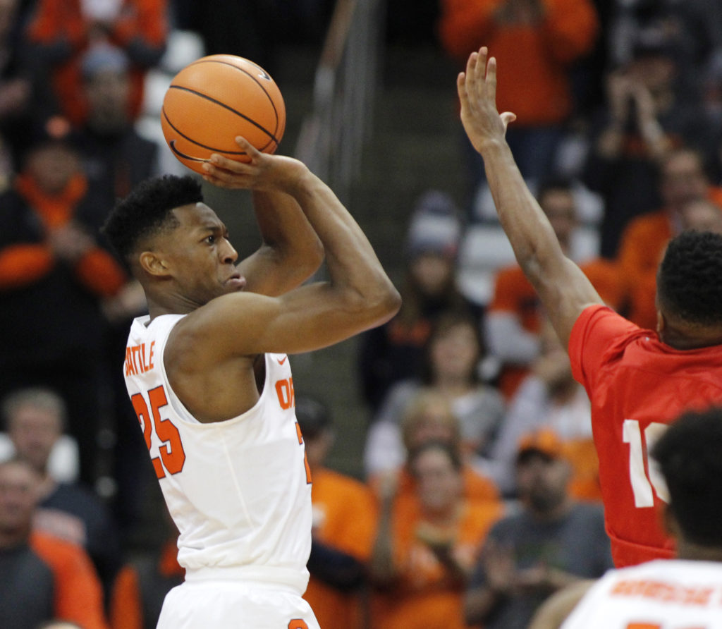 Call It A Nightengale Getting To Know Syracuse Basketball