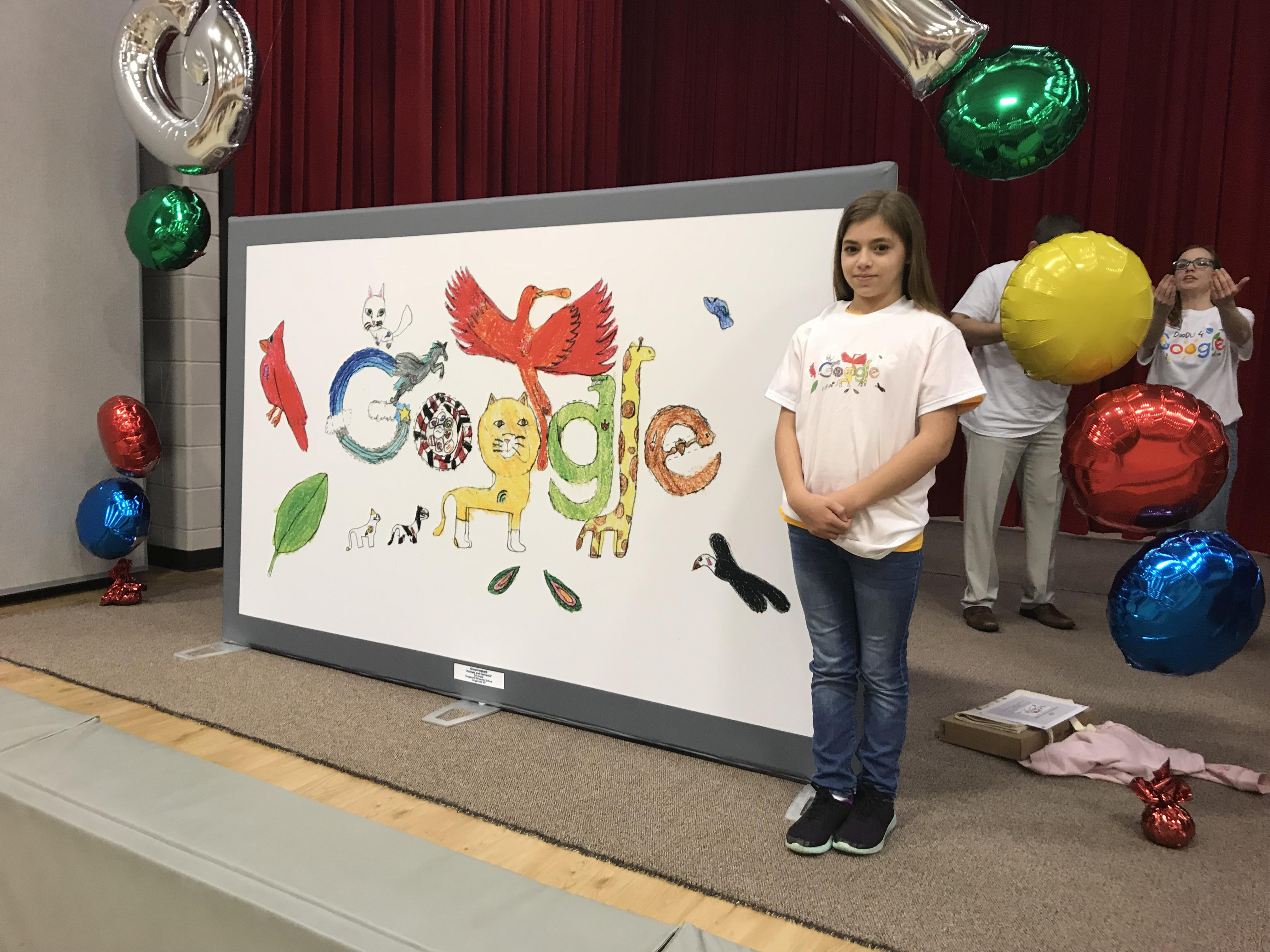 Tonganoxie elementary student among select group of winners