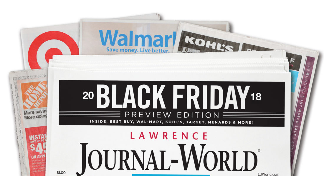 When does the newspaper come out for black friday