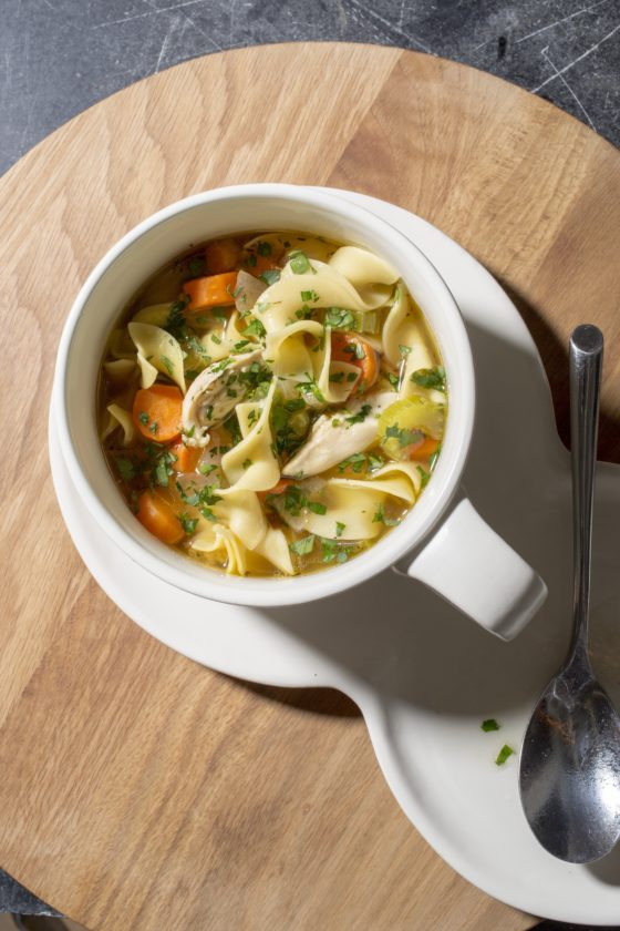 America S Test Kitchen Old Fashioned Chicken Noodle Soup