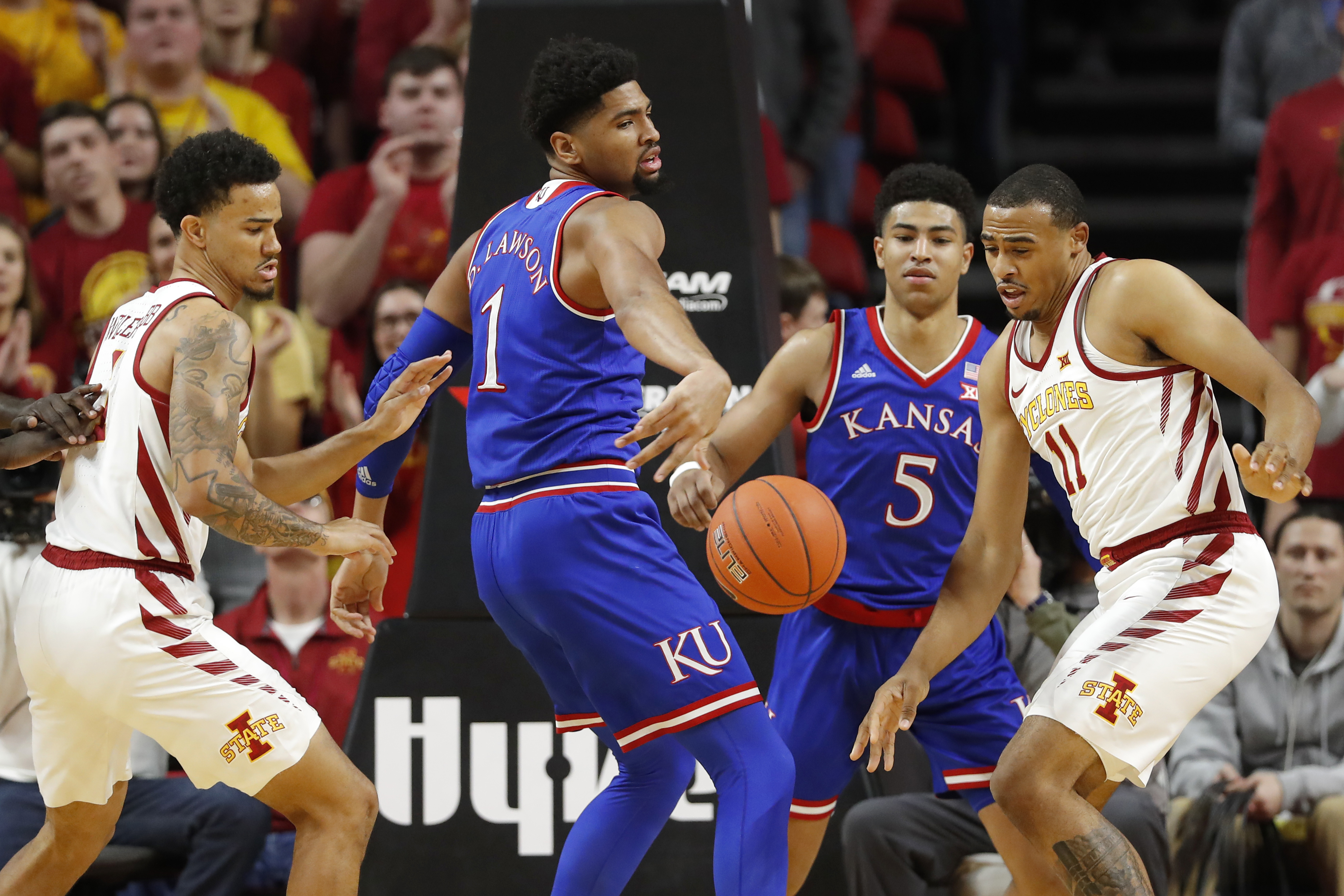 What channel is KU basketball vs. Fort Hays State on?