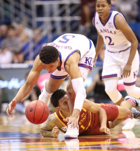 new style 191bc 5d076 Slump and all, KU coach Bill Self still believes freshman guard Quentin  Grimes can help Kansas