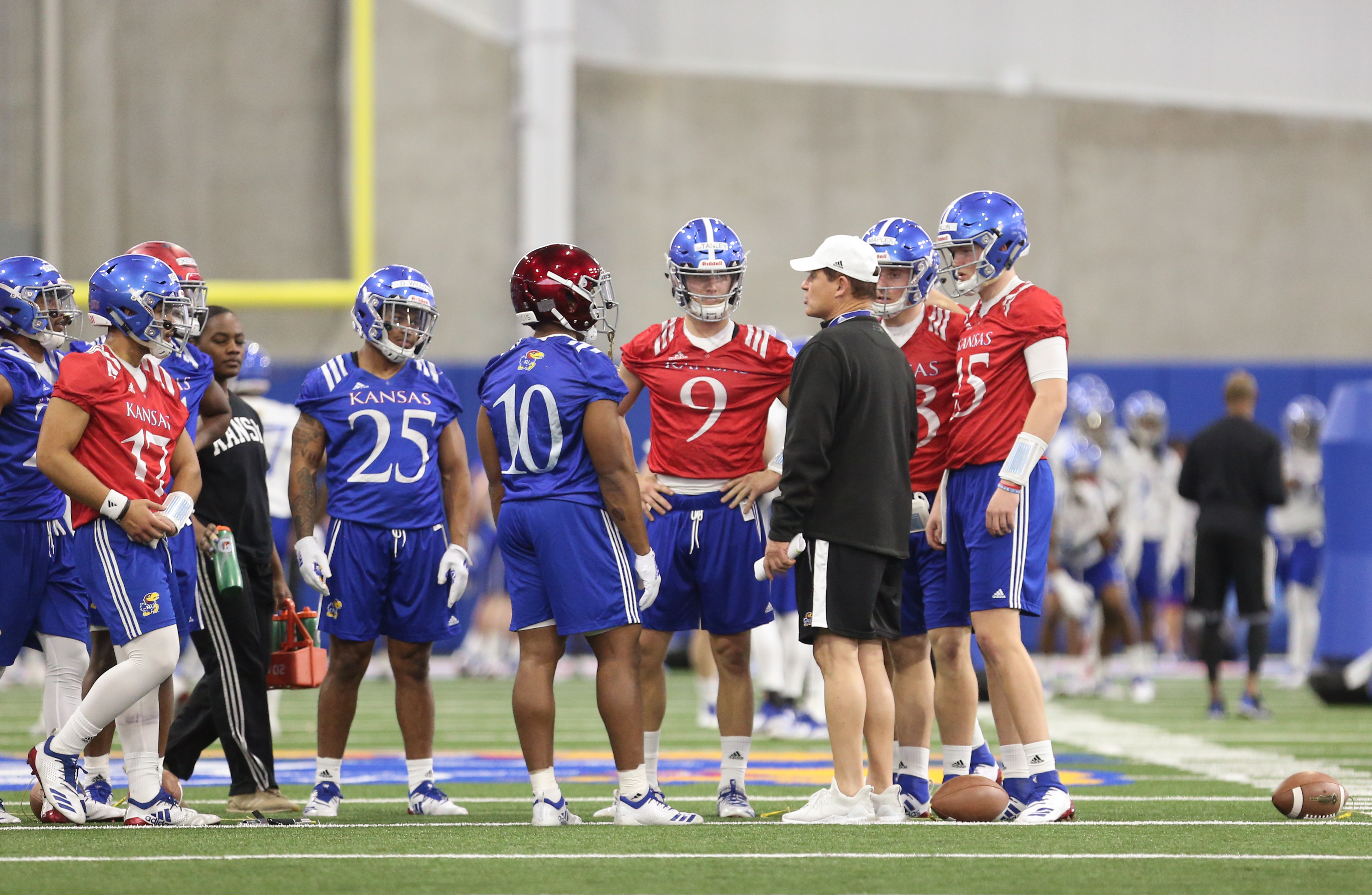 Over/under win totals released, KU projected to finish last
