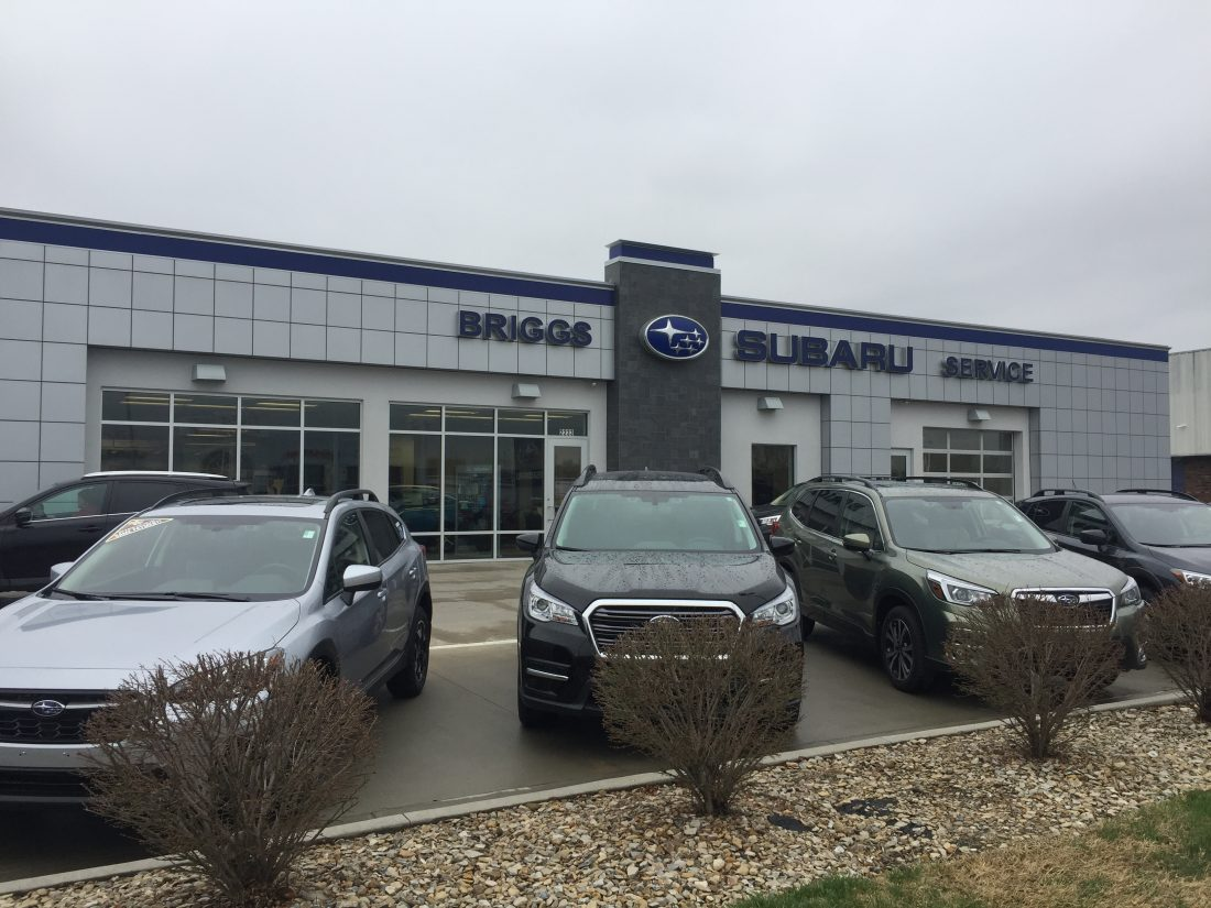 Subaru Dealership Kansas City >> Town Talk Briggs Auto Group Agrees To Sell Its Remaining Lawrence