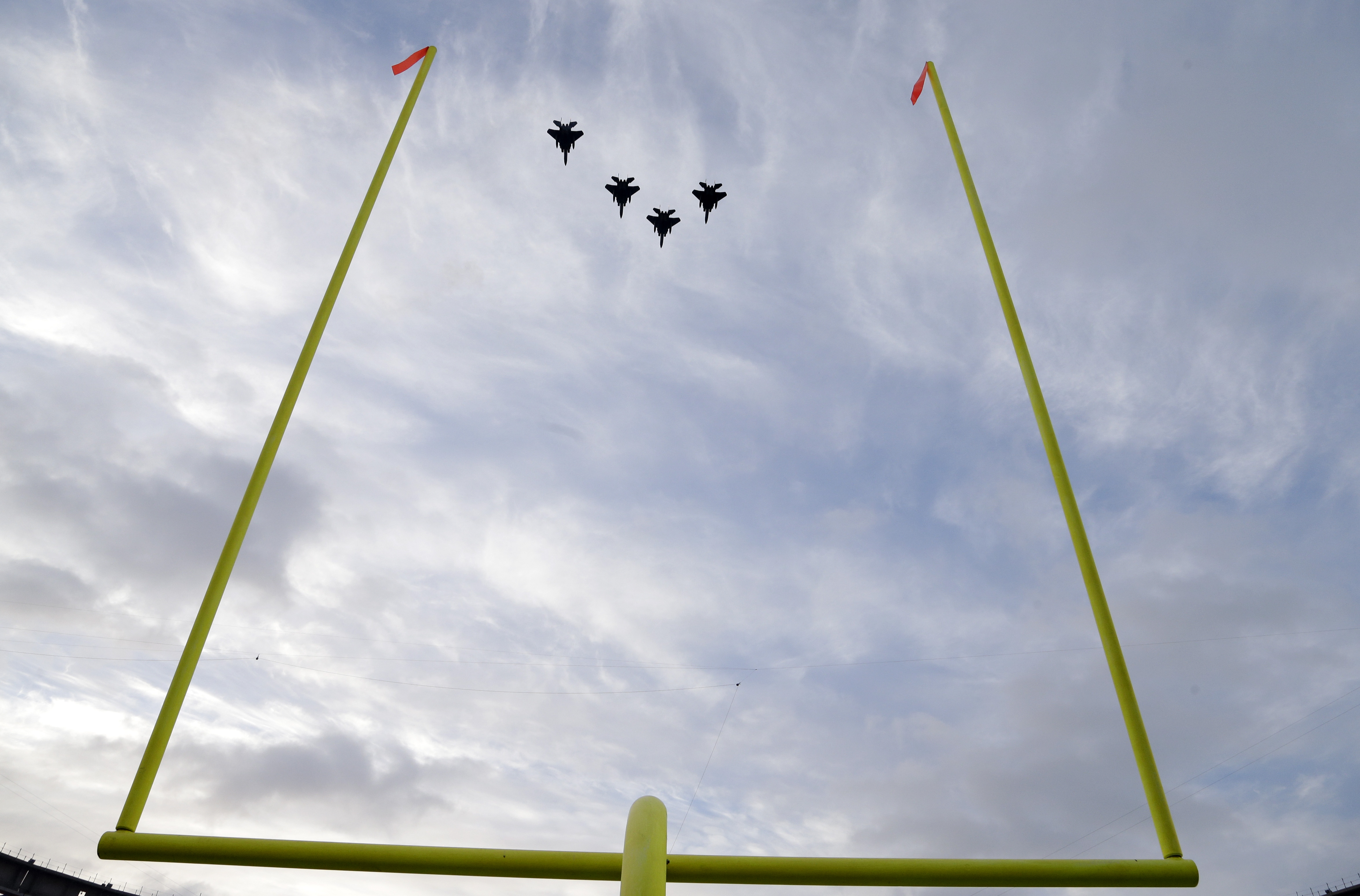 'It gets everyone amped up before kickoff': The process of procuring military flyovers