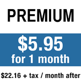 PREMIUM: All Access Digital + 7 Day Print. $5.95 for 1 month, $22.16 per month after