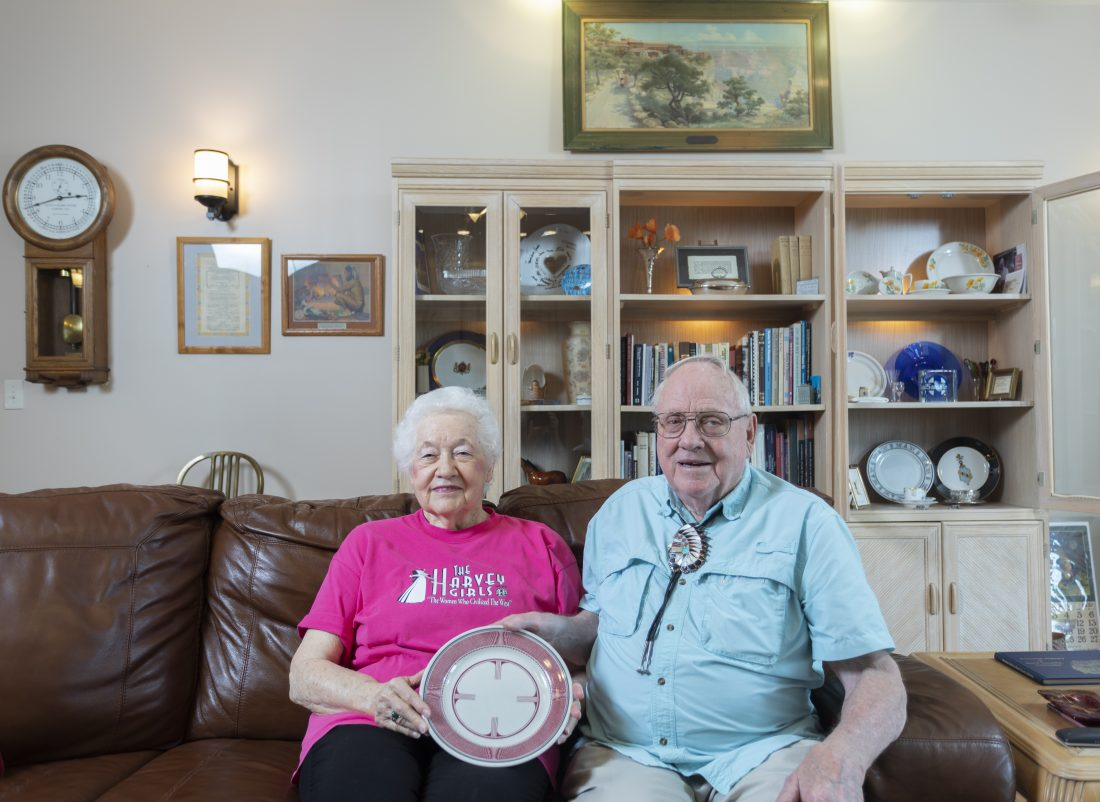 Not seeking to slow down, Lawrence couple with connection to Santa Fe Railway spent retirement collecting antique railroad artifacts