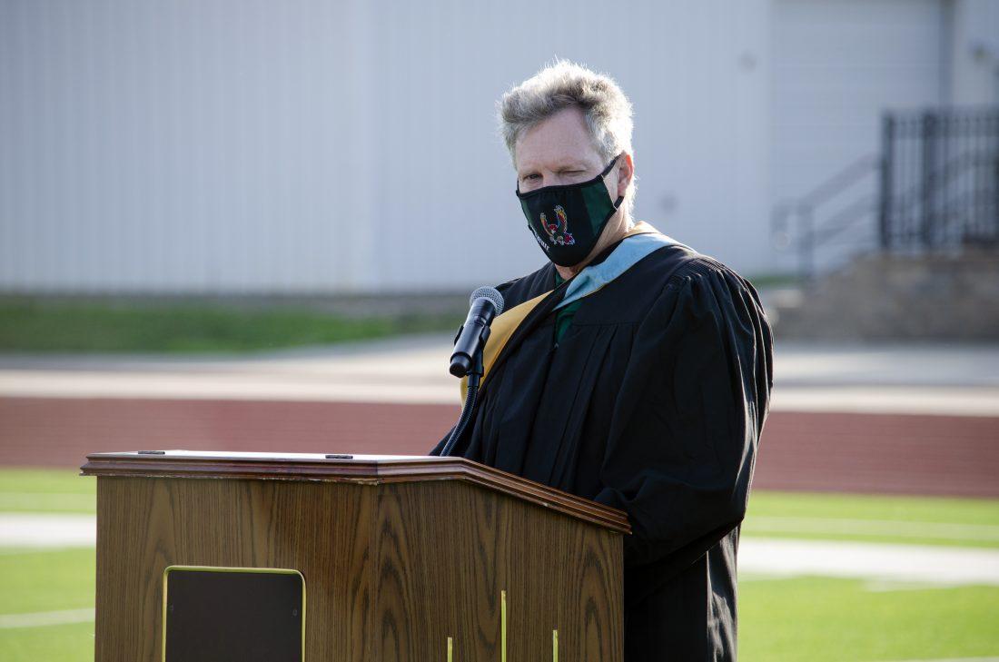 Principal Myron Graber
