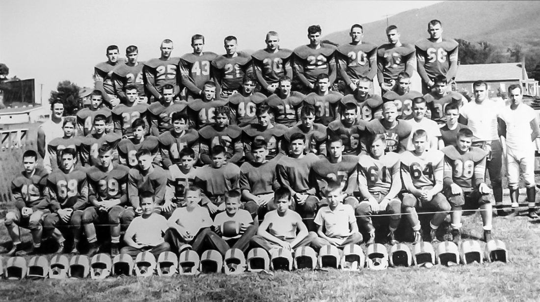 Mill Hall Pa >> BEN football team of 1955-56 | News, Sports, Jobs - The ...