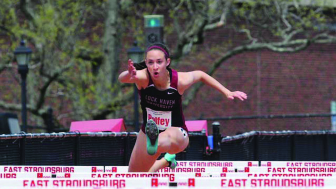 Women's track and field caps busy Colonial Relays in ...