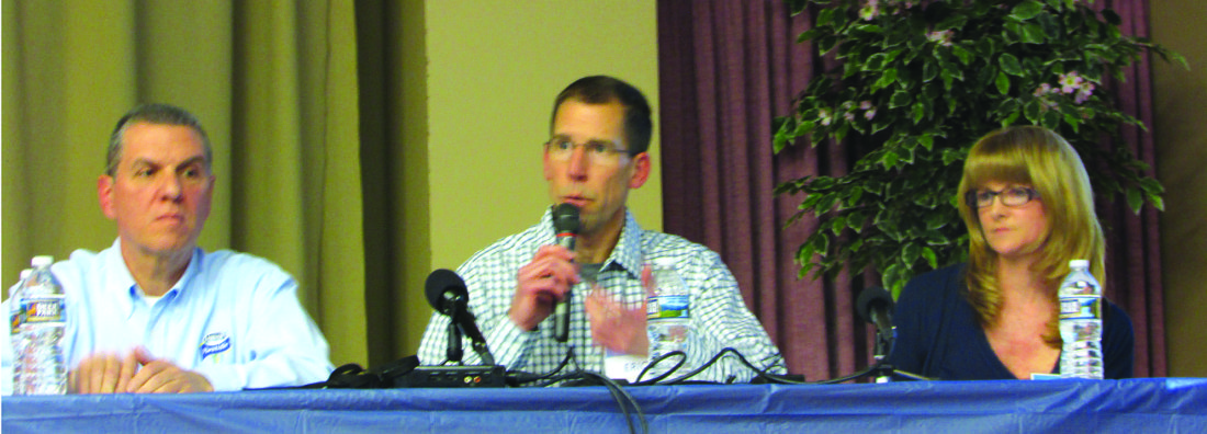 QUESTIONS POURED ON PANEL | News, Sports, Jobs - The Express