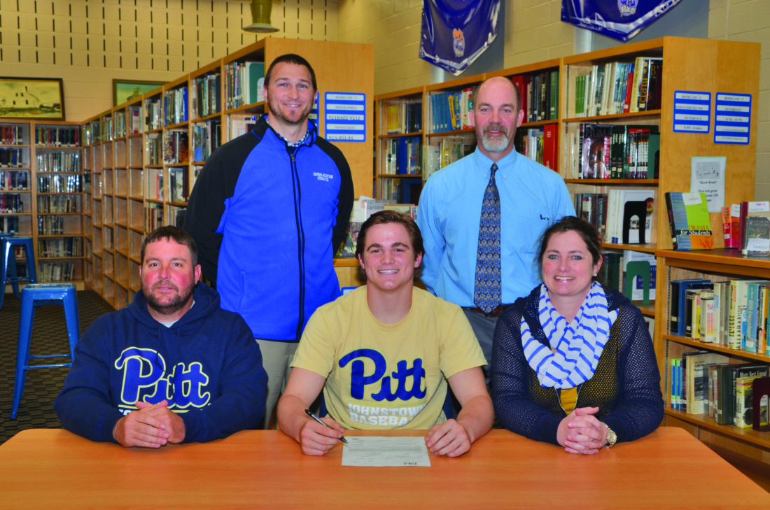 Central Mountain's Asher Corl commits to the University of Pitt