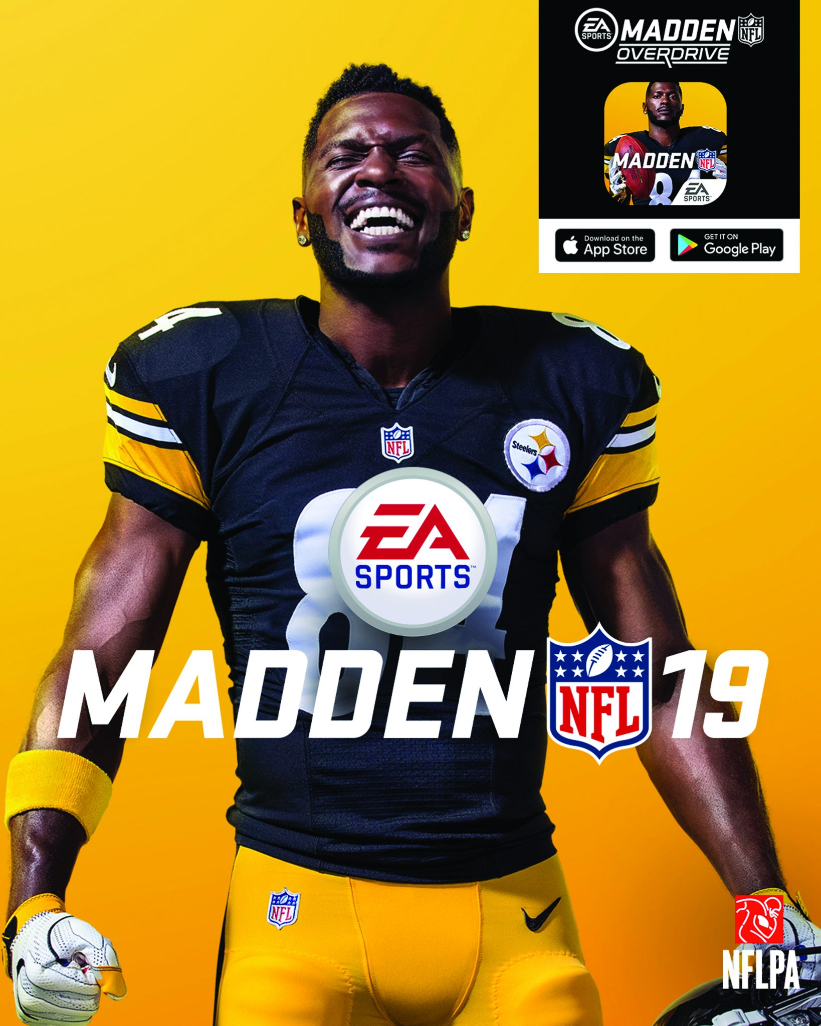 Antonio Brown 2018 >> Steelers All Pro Wr Antonio Brown Is Madden Cover Guy