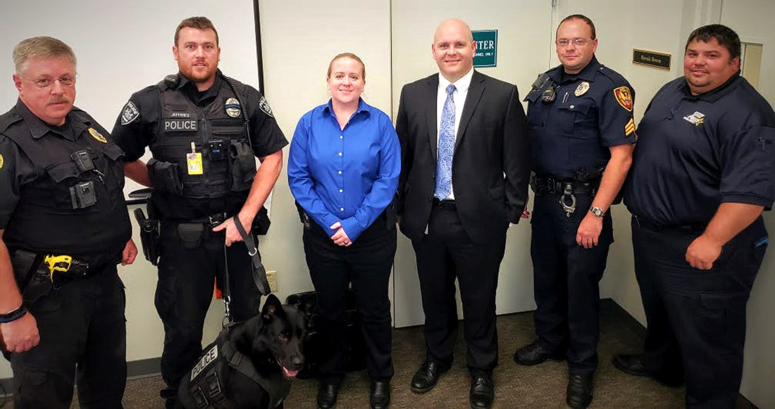 DA presents new cameras to local police departments | News