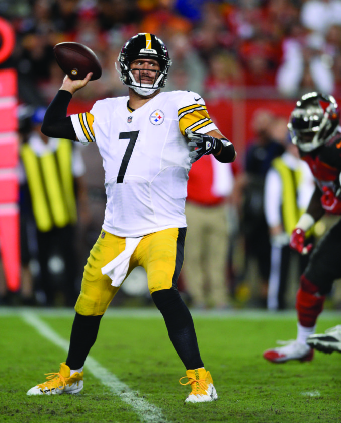 412bf2413eb Pittsburgh Steelers quarterback Ben Roethlisberger throws a pass against  the Tampa Bay Buccaneers during the second half of an NFL football game  Monday