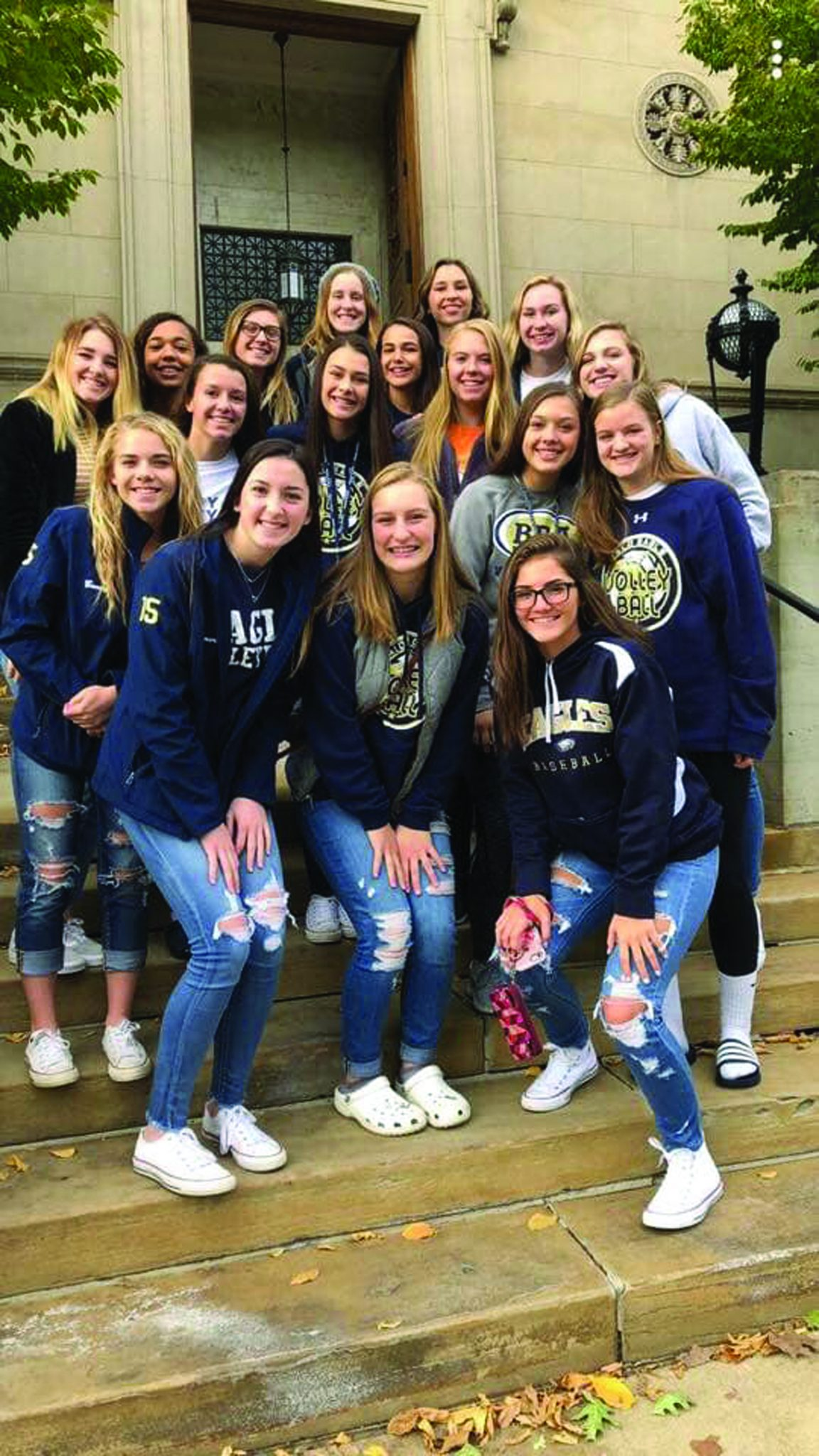 Bald Eagle Area Girl S Volleyball Places Third In