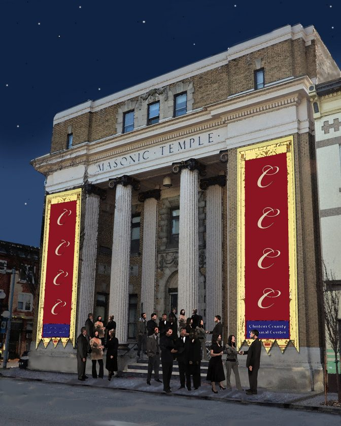 Business, Arts Groups Hope To Transform Masonic Temple