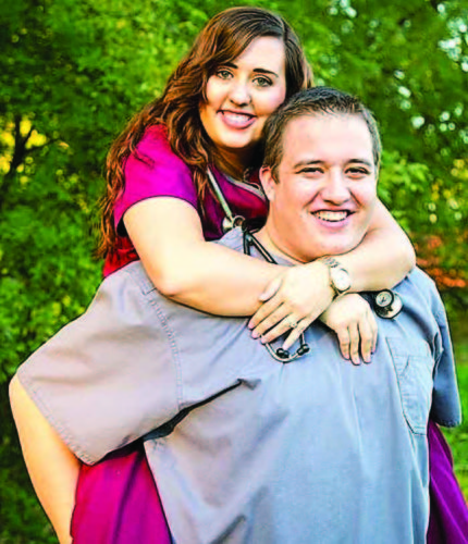 Tana Wallace and Wyatt Baker