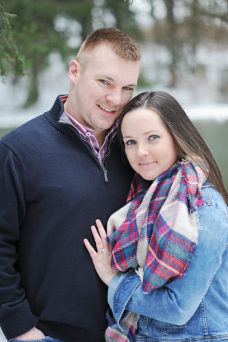Faith Miller and Cory Kriechbaum