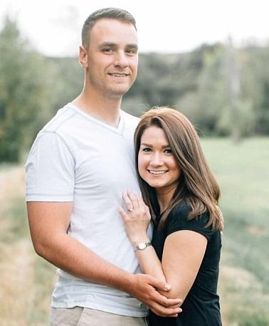 Megan Hackney and Calvin Kelly IV