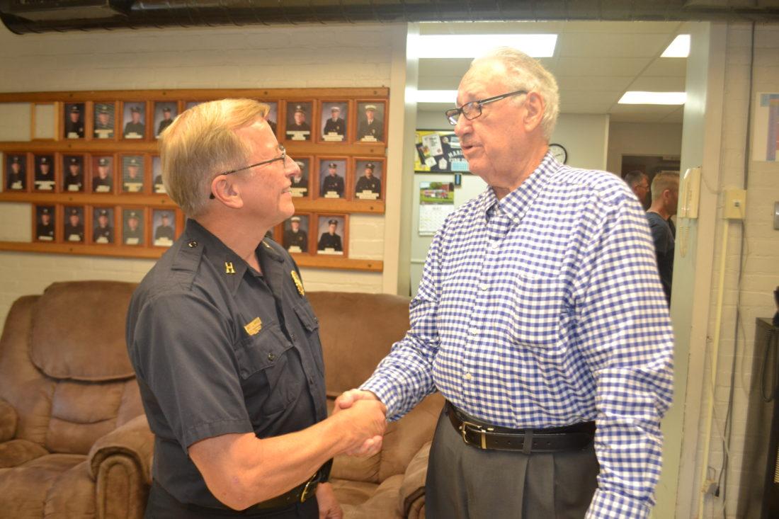 Longtime Firefighter Retires News Sports Jobs