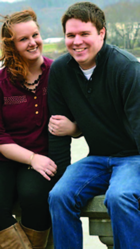 Tabitha Thomas and Justin Brookover