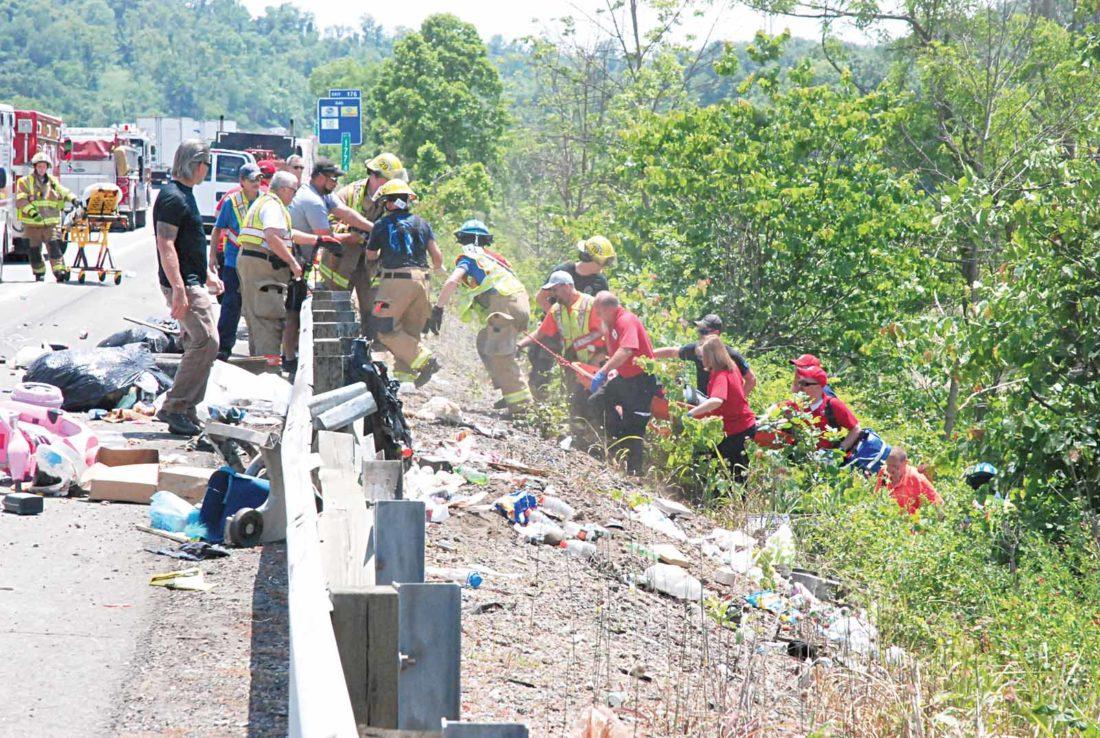 I 77 Chevrolet >> Marietta man hurt in I-77 crash   News, Sports, Jobs - Marietta Times
